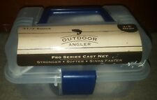"NEW Sealed Outdoor Angler 3.5' Radius 3/8"" Mesh Pro Series Cast Net"