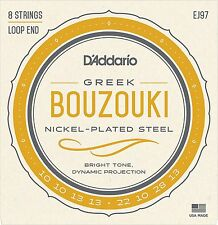 D'Addario EJ97 Greek Bouzouki Strings.For Use With 8-string Greek Bouzoukis