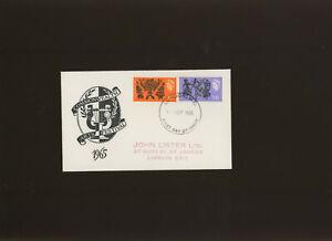 1965 Commonwealth Arts Festival Phosphor relevant London WC FDI H/S. Cat £30