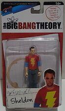 "2016 SDCC EXCLUSIVE Big Bang Theory Sheldon Cooper Shazam T-Shirt 3.75"" Figure"