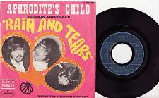 """APHRODITE'S CHILD - RAIN AND TEARS Ultrarare 1968 french PSYCH 7"""" P/S Single!"""