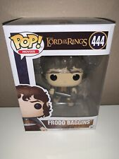 Funko Pop Movies The Lord of the Rings - Frodo Baggins #444 Figure In Protector