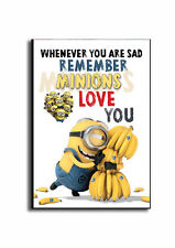 MINIONS DESPICABLE ME  SIGN, Always love You, Funny Wooden Sign