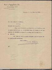 ANTIQUE COMMERCIAL LETTER / SUCS. DE TOMAS CANO & CO / GUAYAMA PUERTO RICO 1915