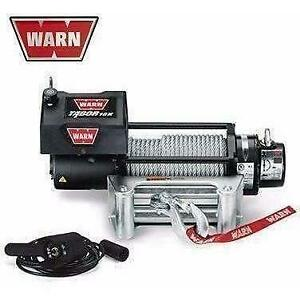 Warn 12v self recovery winch 24m wire rope, 10k-88395 8860068626