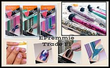 Sally Hansen kit of 3 boxes Nail Glitter Studs Beads total 9 vials Handcraft