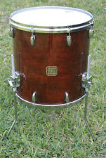 "2006 GRETSCH USA 16"" FLOOR TOM in WALNUT GLOSS for YOUR DRUM SET! LOT #E738"