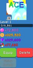 Bubble Gum Simulator - Ace - Secret Pet - 1 in 2M