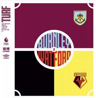Burnley v Watford Premier League Programme 2020 Free Uk Post.