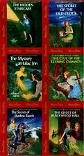 Get A Clue With Nancy Drew Fabric Blocks Panel - Red / Moda Fabric Book Covers