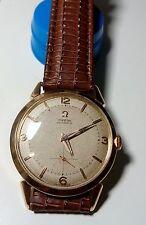 "1954 Vintage Omega Cal. 344 ""bumper""oro macizo 18k"