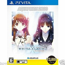 White Album 2: Shiawase no Mukou PS Vita SONY JAPANESE NEW JAPANZON