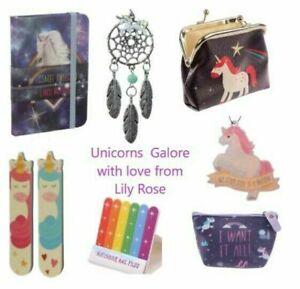 Unicorns Galore: Purse, Nail Fail, Notebook, Dreamcatchers