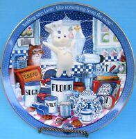 2002 Danbury Mint Pillsbury Doughboy INGREDIENTS FOR FUN Collector Plate FSHIP!