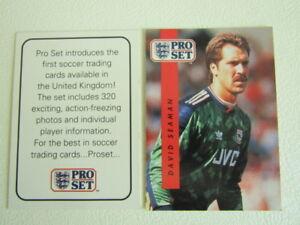 Pro Set Football Cards 1990 1991 Nos 1~248  Arsenal ~ Wimbledon  Variants (ef4)