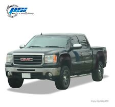 Black Paintable OE Style Fender Flares 07-13 GMC Sierra 1500 Short Bed 69.3 Only