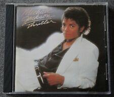 Michael Jackson, thriller, CD 1ere edition