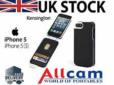 Kensington Flip Carry Case w/ Wallet for iPhone 5S/ 5C/ 5 Black Snakeskin