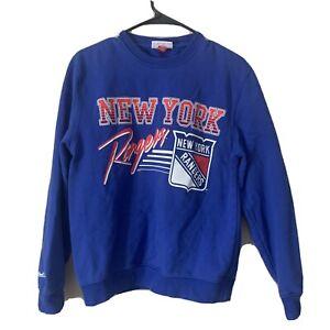 new york rangers mitchell and ness Sweatshirt Size S