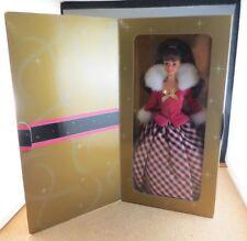 Avon Exclusive Winter Rhapsody Barbie Doll 1996 New In Box Htf #2 in Series Mint