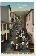 PORTUGAL MADEIRE Madeira caminho do monte descida de carros
