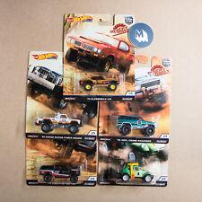 Échelle 1:64 Hot Wheels voiture culture Desert Rally (Ensemble de 5)