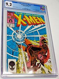 UNCANNY X-MEN #221 (1987 Marvel) CGC 9.2 NM- Marauders App 1st Mister Sinister