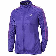 Adidas Response Womens Wind Running Jacket - Purple