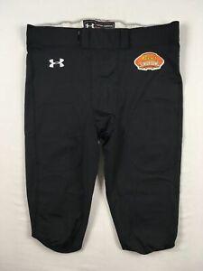 Under Armour Football Pants Men's Black Nylon Used 3XL