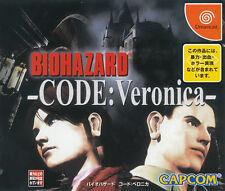 BioHazard -- CODE: Veronica Sega Dreamcast Japan Import  MInt/ Near Mint
