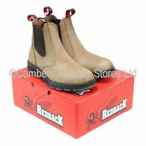 NEW Australian Aussie Redback UBCH Classic Dealer Style Boots All Sizes 06 To 12