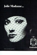 PUBLICITE ADVERTISING 017  1973  Pierre Balmain parfum Jolie Madame