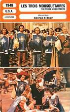 FICHE CINEMA : LES TROIS MOUSQUETAIRES Turner,Kelly,Sidney 1948 Three Musketeers