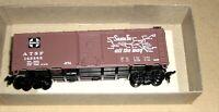 Athearn 5014 HO Scale 145385 ATSF Santa Fe 40' Map Box Car,Grand Canyon Line