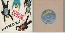 "Men At Work ""Overkill/When The Money Runs Out"" PROMO Epic 1983 Mint 7"""