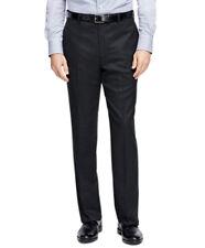 Brooks Brothers Mens Madison Fit Dark Gray Wool Blend Dress Pants 34W 30L 5467-4