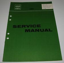 Service Manual Volvo P 120 Amazon 1800 Propeller Shaft Werkstatthandbuch 11/1967