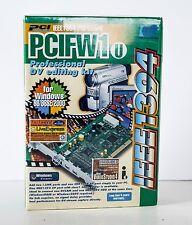 Ratoc Systems PCIFW1u IEEE1384 PCI Board Firewire Pro DV Editing Kit