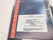 Lastolite Ezybox a slittamento 60X60 Diffusore Anteriore Coperchio di ricambio 2461