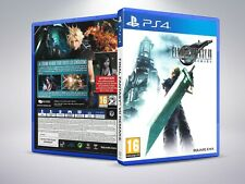 Final Fantasy VII Remake - PS4 - Replacement Cover / Case (NO Game) - PAL