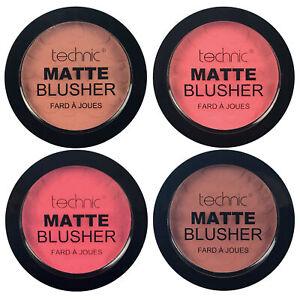 Technic Matte Blusher Powder Blush Vegan
