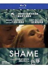 """Michael Fassbender """"Shame"""" Carey Mulligan Drama NEW Region A Blu-Ray"""