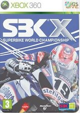 SBK X Special Limited Steelbook Edition Xbox 360 * NEW SEALED PAL *