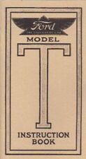 1909 10 11 13 14 15 FORD MODEL T OWNER'S MANUAL (BRASS)