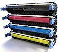 4 x Toner für HP Color Laserjet 5550 5550N 5550TN 5550DTN wie C9730A -C9733A