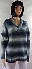 Gestreifte Damen-Pullover & Mittel mit Hüftlang und Baumwollmischung