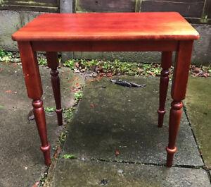 vintage mahogany rectangular coffee table