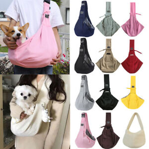 Pet small Dog Bags Carry Travel Sling Backpack For Cat Adjustable Dog Protector