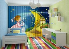 3D Innocent Kid Blockout Photo Curtain Printing Curtains Drapes Fabric Window AU