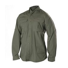New BlackHawk Warrior Wear Tactical Shirt Olive Green Long Sleeve Size Large L